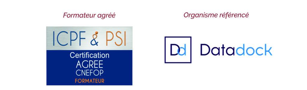 Formateur agréé ICPF - organisme référencé Datadock