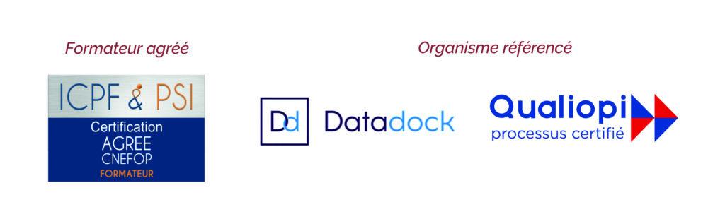 organisme de formation professionnelle référence data dock et qualiopi